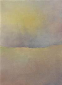 triptychon: morgen, mittag, abend (triptych) by hanspeter münch