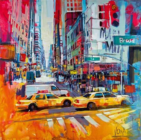 New york city by voka on artnet for Painting jobs nyc