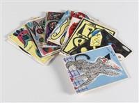 artistes libres. première serie du bibliothèque de cobra (portfolio of 15) by cobra group