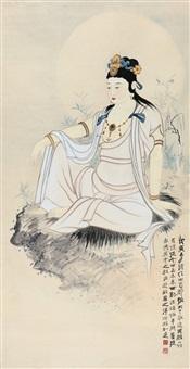 观音大士 by zhang daqian