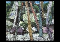 stone and tree by takao yamazaki