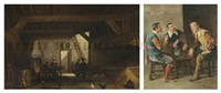 three musketeers (+ untitled; 2 works) by vicente campesino y mingo