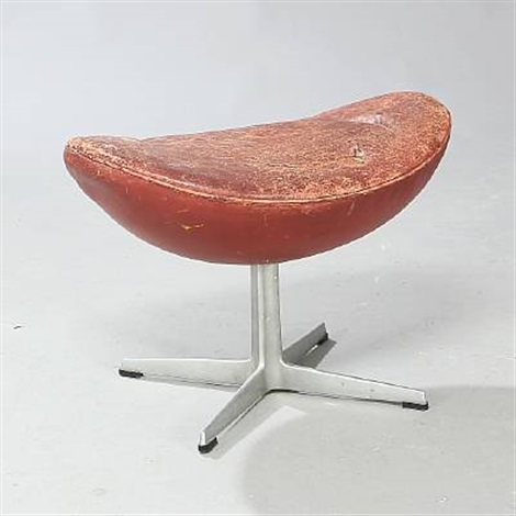 Delightful Footstool For The Egg Chair (model 3127) By Arne Jacobsen Good Ideas