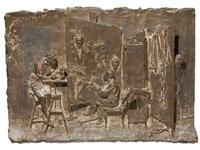 soyer, ziegler, lucchesi, the artist's studio by bruno lucchesi