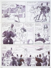 pl. 40 (from piranese la planête prison) by milo manara