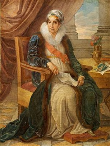 portrait of countess ekaterina p shuvalova née saltykova by vincenzo camuccini