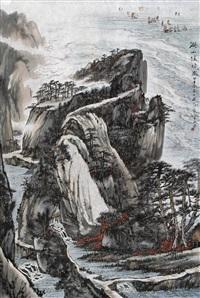 湖山佳境图 (landscape) by xu jiechuan
