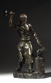 a blacksmith by henryk kossowski the younger