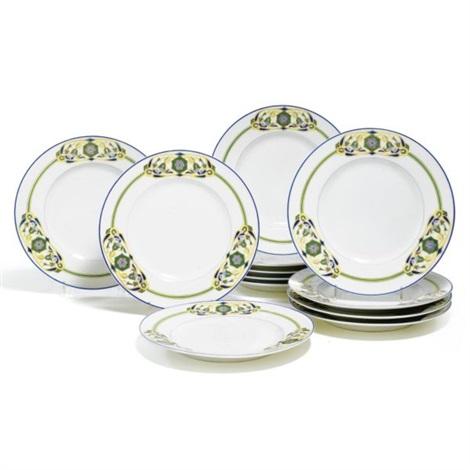 dinner plates (set of 12) by kornilov bros.  sc 1 st  Artnet & Dinner plates set of 12 by Kornilov Bros. on artnet