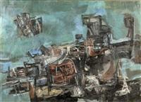 abstract landscape by madeleine gekiere
