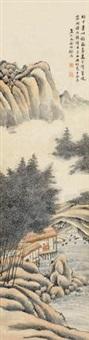 烟山竹翠 by ming jian