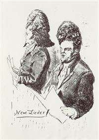 neujahrsblätter (3 works) by neo rauch
