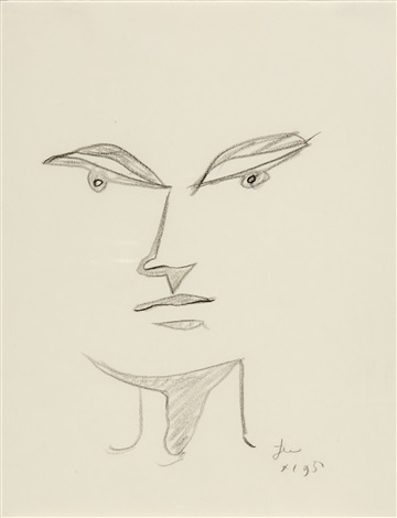 portrait imaginaire by jean cocteau