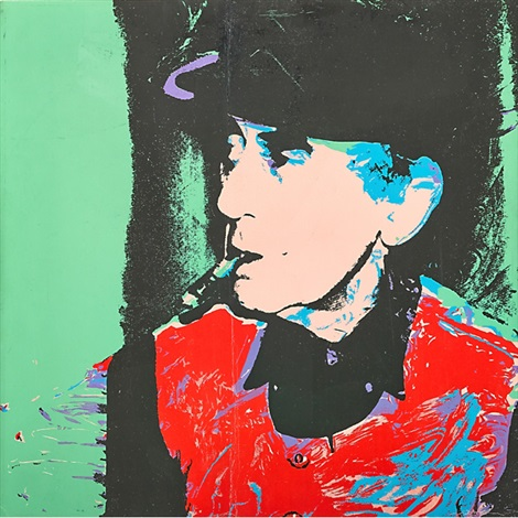 man ray by andy warhol
