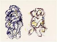 untitled (g 259) by henri michaux