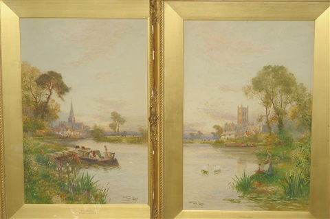 gloucester cirencester pair by walter stuart lloyd