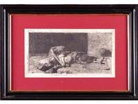 arabe guardando el cuerpo de su amigo by mariano fortuny y de madrazo