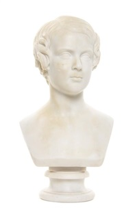 bust of a youth by lawrence macdonald