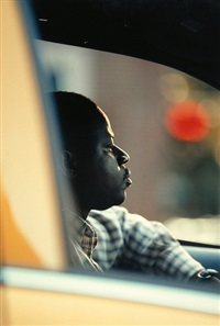 we will never be so close again, new york no. 4 (cab driver) by jules spinatsch