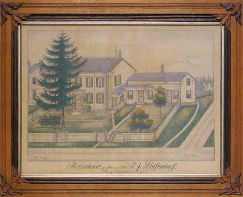 the residence of mr and mrs pj diefendorf town of canajoharie new york nov3 1894 by fritz g vogt