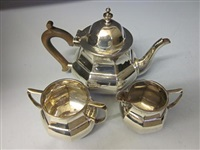 tea service (set of 3) by nathan & hayes