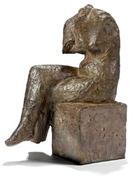 seated female by knud nellemose