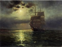 marina nocturna by luis graner y arrufi