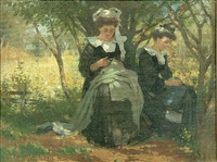 in the orchard by john macdonald aiken