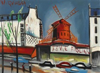das etablissement moulin-rouge in paris by wilhelm goliasch