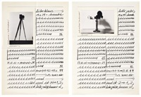 untitled (in 2 parts) by hanne darboven