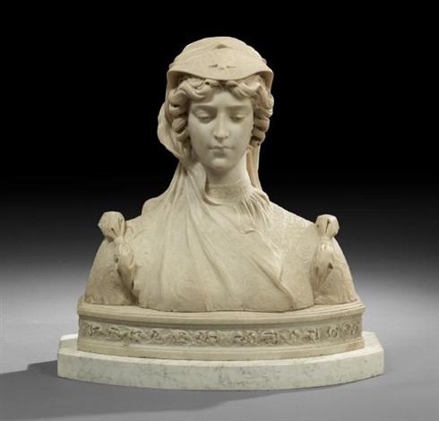 bust of anne boleyn by anonymous 19