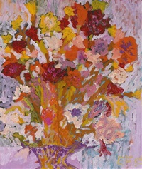 bunter blütenstrauß by eleonore frey-hanken