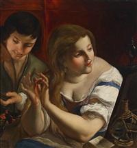 allegorie der vanitas by angelo caroselli