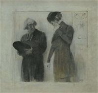 personaggi (bozzetto) by serafino macchiati