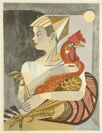 a boy and his rooster by junichiro sekino