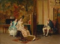 the portrait painter by adriano cecchi