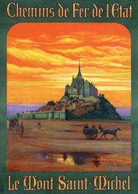 le mont saint-michel by andré milaire