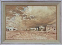storm over birdsville by maxwell richard christopher ragless