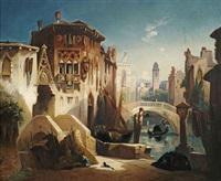 an einem venezianischen kanal by christian jank