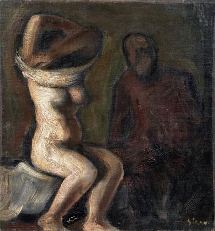nudo e figura by mario sironi