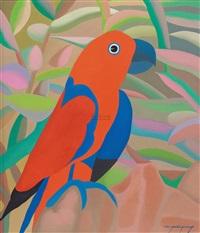 花鸟 (bird) by wang xiangming