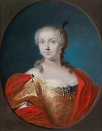 bildnis einer aristokratischen dame by antonio david