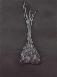 black flower by liu xun
