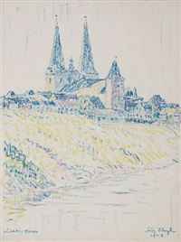dom am fluß by fritz bleyl