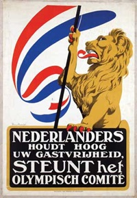 nederlanders steunt het olympisch comité by arnold van roessel