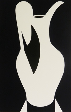 lamp white jug (from white ware suite) by patrick caulfield