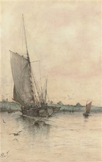 returning to harbour by albert markes