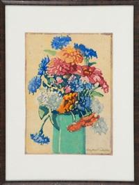 vase of flowers by margaret jordan patterson