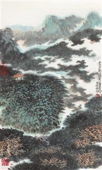 landscape by luo guowei