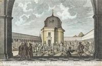 ansicht der grabkapelle von erzbischof wolf dietrich von reitenau auf dem sebastiansfriedhof by franz anton danreiter